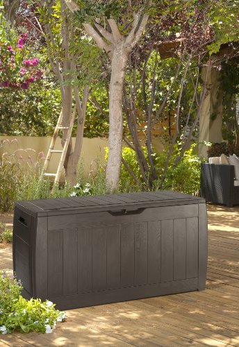 Keter Kissenbox Hollywood Box, braun, 270L, 118cm - 4