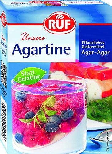 RUF Agartine vegan Pflanzliches Geliermittel statt Gelatine, 3er Pack (3 x 10 g)