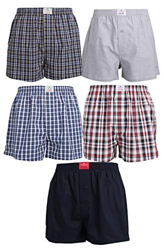 TOM TAILOR 5er Pack Herren Boxer Shorts Gr. XL