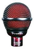 Audix Microphone dynamique FireBall court et rond pour harmonica