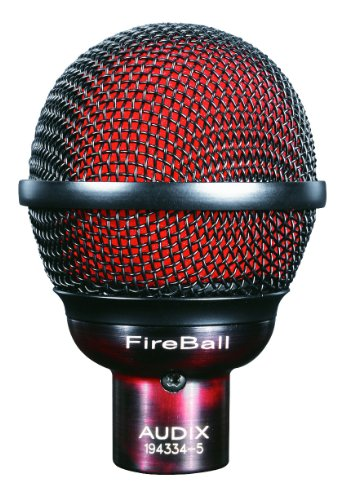 Audix Dynamic Microphone, Black, 6.00 x 9.00 x 12.00 inches (FIREBALL)