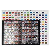 Coins Collection Starter Kit 120 Countries Coins 100% Original Genuine World Coin with Leather Collecting Album Taged by Country Flags and Name