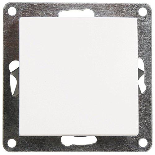 MC POWER - Wechselschalter | FLAIR | 250V~/10A, UP, weiß, matt