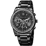 Akribos XXIV Enterprise Mens Casual Watch - Sunburst Effect Dial - Quartz Movement - Diamond -...