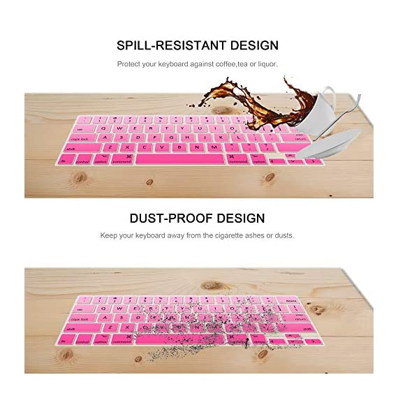 Lapogy MacBook Pro 16 inch Keyboard Cover with MAC OS Shortcut Hot Keys,Pro 13 inch 2020(A2289/A2251),Pro 16 inch 2019… 6 Only Compatible with Apple Macbook Pro 16 inch with Touch ID. Not compatible with other MacBook model. Made of premium grade transparent silicone that allows keyboard backlight to shine through High precision molding, extreme fit closely to original key, giving unparalleled typing response.
