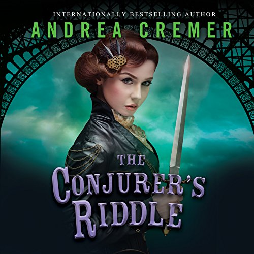 The Conjurer's Riddle audiobook cover art