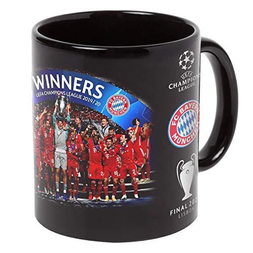FC BAYERN MÜNCHEN Tasse Champions 2020 schwarz