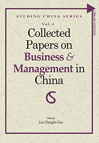 Collected Papers on Business and Management in China (Studing China Series Book 4) (English Edition)