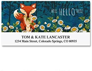 fox return address labels