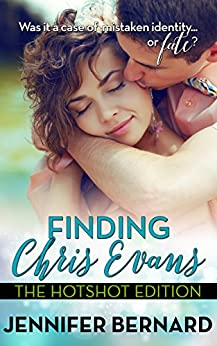 Finding Chris Evans: The Hotshot Edition by [Jennifer Bernard]