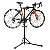 unisky Bike Repair Stand Maintenance Home Shop Bicycle Repair Workstand Height Degree Adjustable Cycle Maintenance Rack for Mountain and Road Bikes
