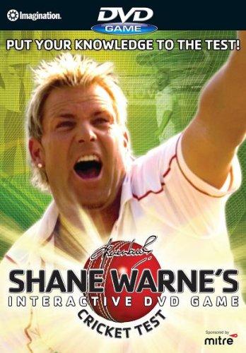 Shane Warne's Cricket Test [Interactive DVD Game]