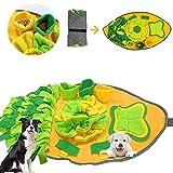 Xionghonglong Alfombra para Perros,Juegos para Perros y Rompecabezas,Estera de Entrenamiento,Juguetes interactivos para Perros,Alfombrilla de alimentación,Olfatear Mascotas,Dog Dog Puzzle (Koi)