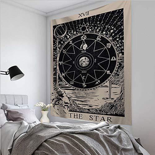 KHKJ Beste Qualität The Moon Star Tapisserie Hängen...