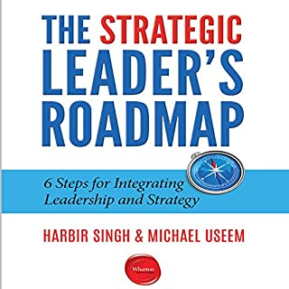 The Strategic Leader's Roadmap audiobook cover art