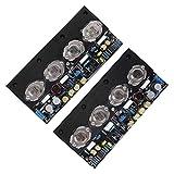 EVTSCAN última placa amplificadora - placa amplificadora de potencia de 20 W sin retroalimentación placa amplificadora doméstica clase A CC completa, fuerte soporte