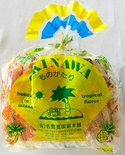 名嘉真製菓本舗 OKINAWAものがたり ちんすこう 5点詰合せ×15袋 ちんすこう専門店の味 サクサクほろほろ ばらまきお土産にもぴったりな一品