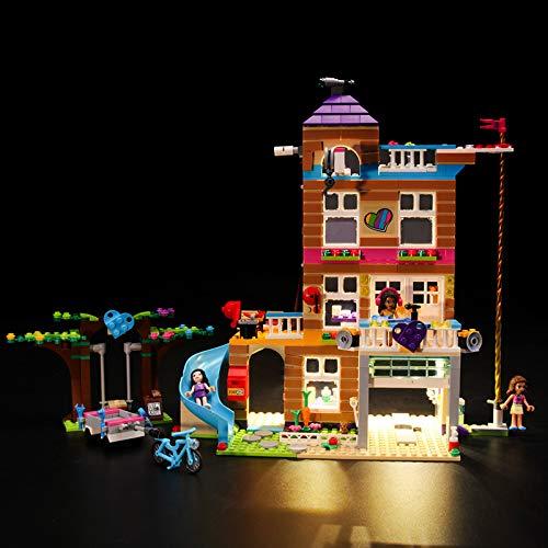 Kit De Iluminación Led para Lego Friends Casa De La Amistad - Compatible con Ladrillos De Construcción Lego Modelo 41340, Juego De para Legos No Incluido