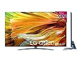 LG - Televisión LG 4K QNED Mini LED 916PA 86' (217 cm), SmartTV webOS 6.0, Procesador Inteligente 4K α7 Gen4 con AI, Gaming Pro TV, Compatible con 100% de formatos HDR, HDR Dolby Vision, Dolby Atmos