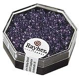 RAYHER 14756314 Delica-Rocailles, 2,2 mm Durchmesser, Perlglanz, violett