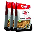Ciao Carb - Arroz proteico, pasta proteica, 3 paquetes (3 x 500 g), alto contenido de proteínas (60%) Titolo