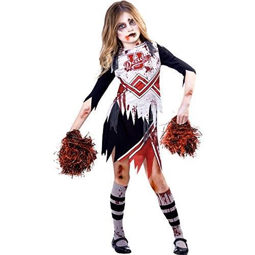 amscan Costume de pom-pom girl zombie fille 11-12 ans 9902693