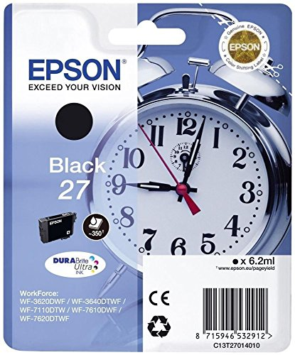 Epson C13T27014022 Schwarz Original Tintenpatronen Pack of 1
