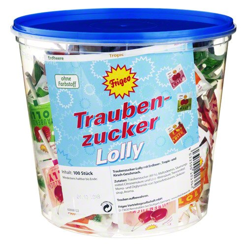 traubenzucker lolly 3fach 1 St