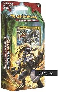 Pokemon Cards Sun & Moon Crimson Invasion Theme Deck - Kommo-o or Hydreigon - one at random