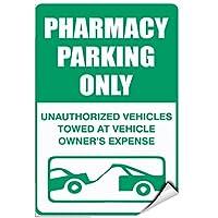 インテリアバーパブヴィンテージルック複製、薬局駐車場無許可車両牽引所有者リスク、ヴィンテージルック複製金属サインホームウォールアート装飾ポストプラーク