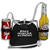Trinkhelm Spaßhelm mit Printmotiv - Bier macht schön - 51634 - versch. Farben zur Wahl Farbe...
