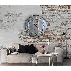 Brooklyn 36 Inch Farmhouse Wall Clock
