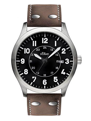 s.Oliver Herren-Armbanduhr SO-1904-LQ