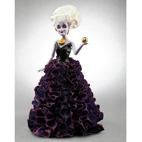 Disney Store.Ursula La Sirenita Ariel Muñeca Barbie Villains