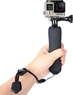 JINGZ Dual Grip Handle Stabilizer Aluminum Mount Bracket for GoPro New Hero //HERO6//5//5 Session //4 Session //4//3 //3//2 //1 Xiaoyi and Other Action Cameras Durable