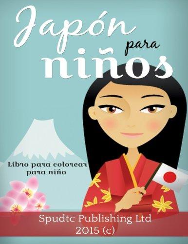 Japón para niños: Libro para colorear para niños