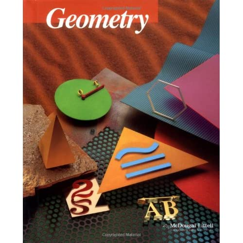 Amazon com: Geometry (9780395977279): Ray C  Jurgensen