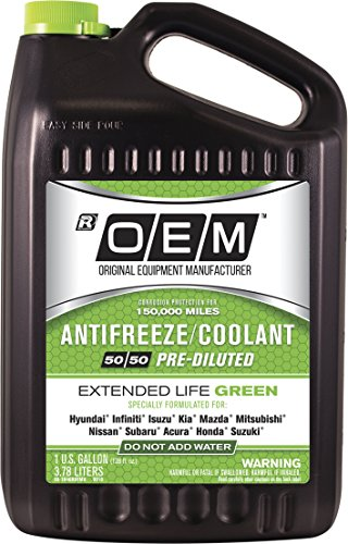 OEM Recochem 86-384GROEMH Green Premium Antifreeze 50/50 Extended Life...