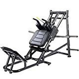 IRON COMPANY SportsArt Fitness A989 Plate Loaded Hack Squat for Club Use - Commercial Angled Squat Machine for use with Olympic Plates