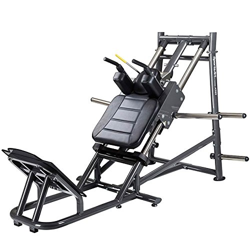 IRON COMPANY SportsArt Fitness A989 Plate Loaded Hack Squat for Club Use -...
