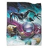 Xaviera Doherty Venom Spiderman Superhero Movie (21) mantas populares de 80 x 100 cm, súper suaves y ligeras. Ropa de cama para niños