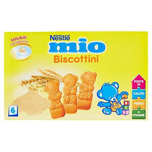 Nestlé Mio Biscottini Biscotti per l'infanzia da 6 Mesi, 360 g