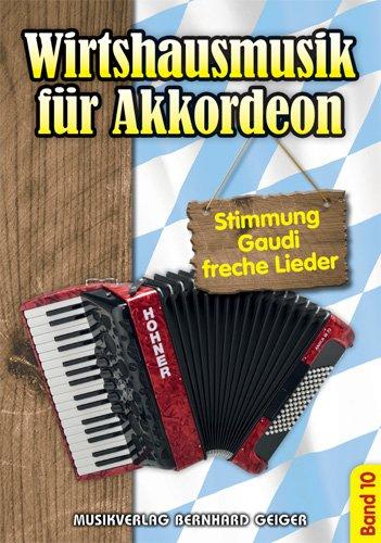 Wirtshausmusik für Akkordeon - Band 10