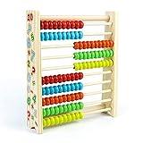 Symiu Abacos para Niños Juguetes de Madera Montessori Aprendizaje de Matemáticas Juegos de Logica Juguetes Educativos Regalos para Niños de 3 4 5 6 Años