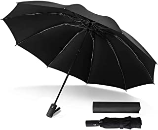 1 Pc Folding Umbrella Windproof Travel Umbrella Automatic Folding Compact Umbrella Auto Open Or Close