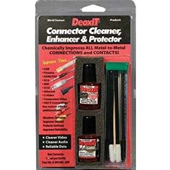 DeoxIT/DeoxIT Gold Audio/Video/Data Connector Cleaner, Enhancer & Protector Kit