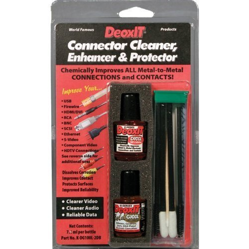 DeoxIT/DeoxIT Gold Audio/Video/Data Connector Cleaner Enhancer amp Protector Kit