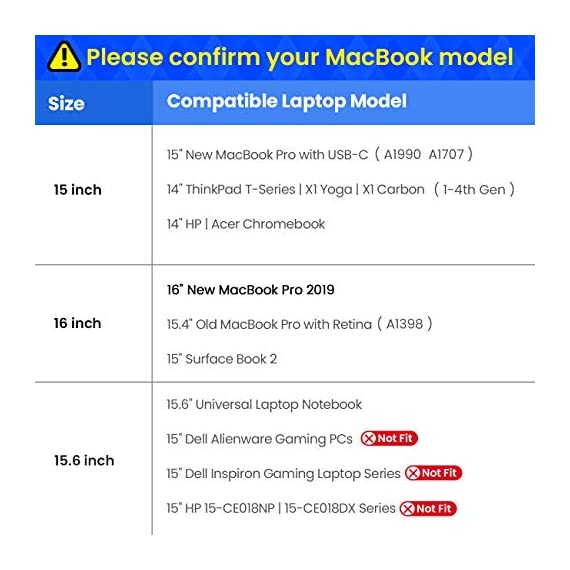 Tomtoc 360° protective laptop sleeve bag for 12-inch macbook retina display a1534, 10. 9-inch ipad air 4 | 11-inch ipad… 6 original cornerarmor patent design at the bottom protects from drops and bumps like the car airbag. 360° protection: thick internal plush lining cushioning provides shock absorption; 360° protective padding around the zipper prevents potential scratches durable & compact: specially made with ykk zipper for secure and long-lasting usage; compact design, easy to carry alone or fit inside another messenger bag or backpack