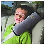 Tefamore Autositze Gurtpolster Schlafkissen Nackenstütze, Baby Kinder Sicherheitsgurt Auto Sitz Gürtel Kissen Schulter Schutz (Grau)