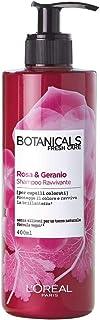 L'Oréal Paris Botanicals Geranio Rimedio di Brillantezza, Shampoo per Capelli Colorati o Spenti, Senza Siliconi, Parabeni ...